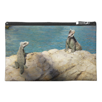 Pair of Iguanas Tropical Wildlife Photography Travel Accessory Bag