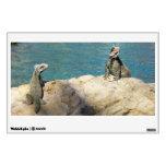 Pair of Iguanas Tropical Wildlife Photography Wall Sticker