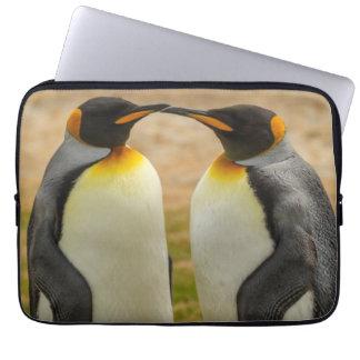 Pair of King Penguins, Falklands Laptop Sleeve