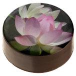 Pair of Lotus Flowers II Chocolate Covered Oreo