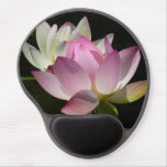 Pair of Lotus Flowers II Gel Mouse Pad