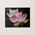 Pair of Lotus Flowers II Jigsaw Puzzle