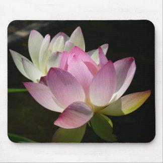 Pair of Lotus Flowers Mousepad