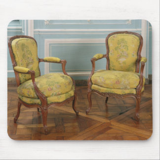 Pair of Louis XV armchairs, 1723-74 Mouse Pad