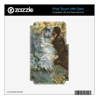 Pair of Lovers by Pierre Renoir iPod Touch 4G Skins