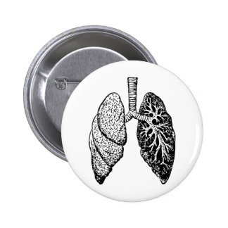 pair of lungs pins