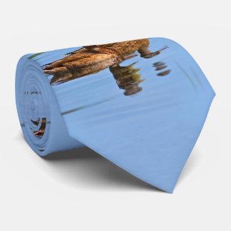 Pair of Mallard Ducks Neck Tie