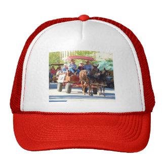 pair of mules trucker hat