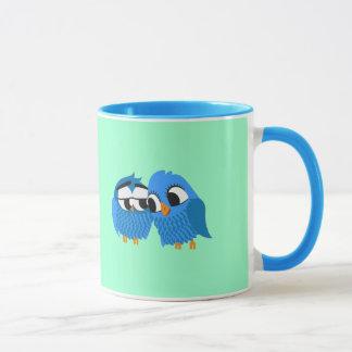 Pair of owls in Love Mug