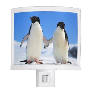 Pair of penguins night light