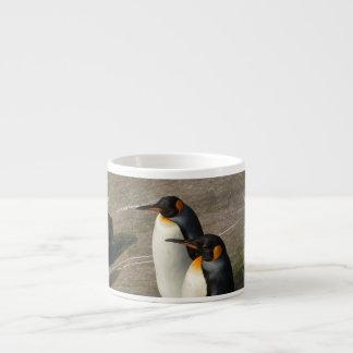Pair of Penguins Specialty Mug 6 Oz Ceramic Espresso Cup