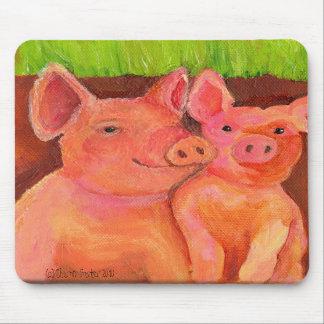 Pair of Pig Pals Mousepad (aka Pig pad)