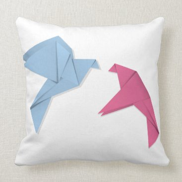 Professional Business Pair of pigeons 3 throw pillow