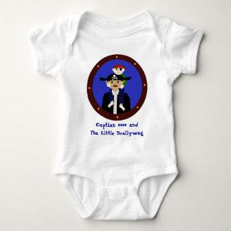 Pair of Pirates Baby Bodysuit