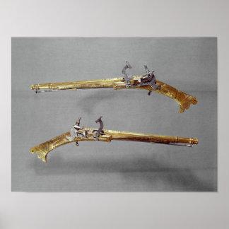 Pair of pistols, 1624-26 poster