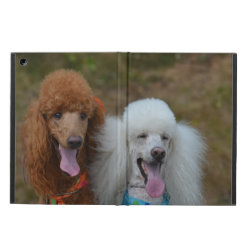 iPad Air Powis Case with Poodle Phone Cases design
