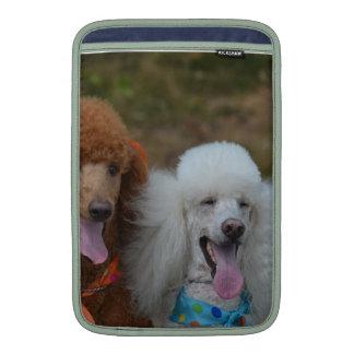 Pair of Poodles Sleeves For MacBook Air