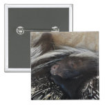 Pair of Porcupines Pin
