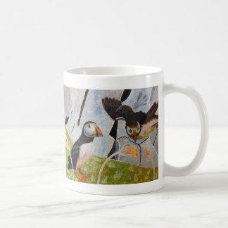 Pair of Puffins Coffee Mug