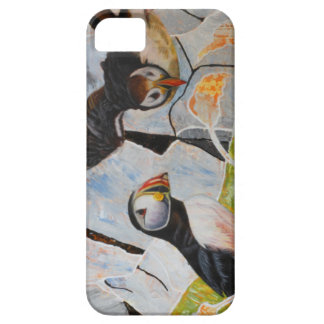 Pair of Puffins iPhone SE/5/5s Case
