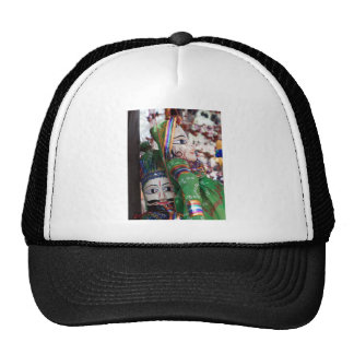 Pair of puppets trucker hat