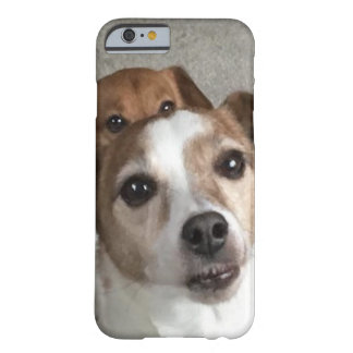 Pair of puppies Resue Dogs Barely There iPhone 6 Case