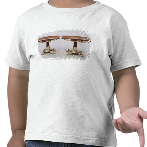 Pair of Regency card tables on quadruple bases T-shirts