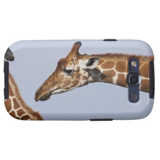 Pair of Reticulated Giraffes (Giraffa Samsung Galaxy SIII Case