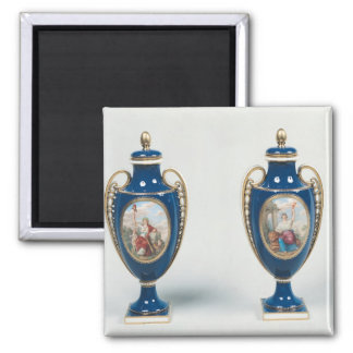 Pair of Sevres vases decorated with allegorical Refrigerator Magnet