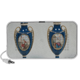 Pair of Sevres vases decorated with allegorical Portable Speakers