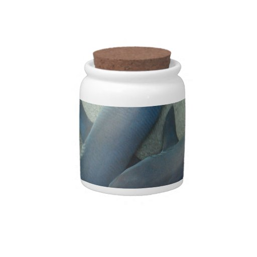Pair of Sharks Candy Jar