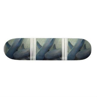 Pair of Sharks Skateboard