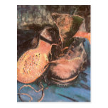 Pair of Shoes, Vincent van Gogh Vintage Still Life Post Card