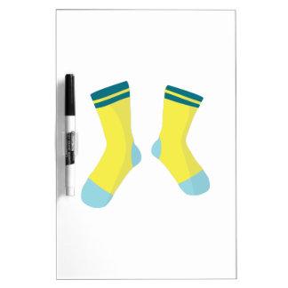 Pair Of Socks Dry-Erase Board