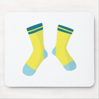 Pair Of Socks Mouse Pad