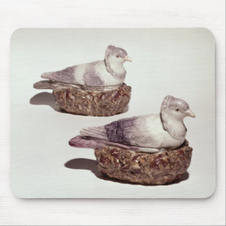Pair of Staffordshire pottery tureens Mouse Pad