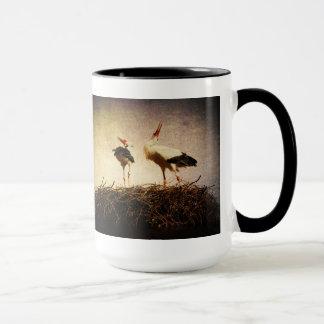 Pair of storks mug