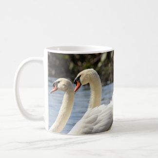 Pair of swans coffee mug