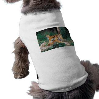 Pair of Tigers Pet T Shirt