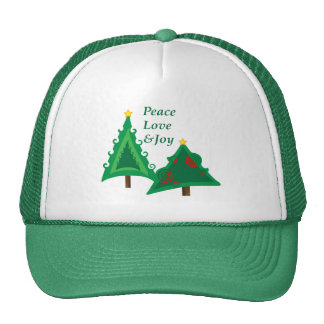Pair Of Trees Mesh Hats