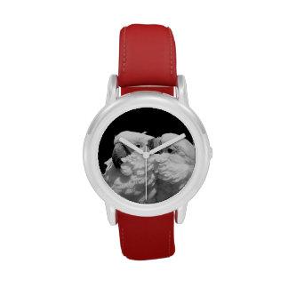 Pair of umbrella cockatoos wristwatch