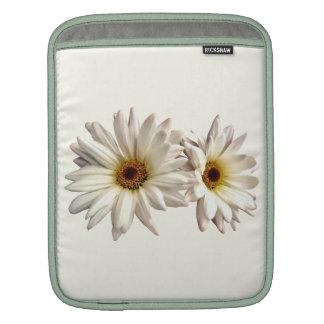 Pair of White Daisies iPad Sleeve