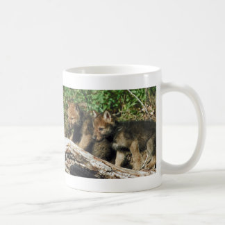 Pair of Wolf Cubs Coffee Mug