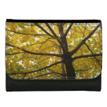 Pair of Yellow Maple Trees Wallets For Women