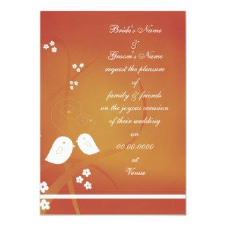"Pair Wedding Cards 5"" X 7"" Invitation Card"