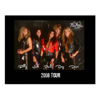 Pairadice Postcard, 2008 Tour