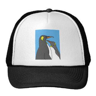 Paired King Penguin Trucker Hat