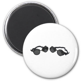 PairGoggles073109 2 Inch Round Magnet