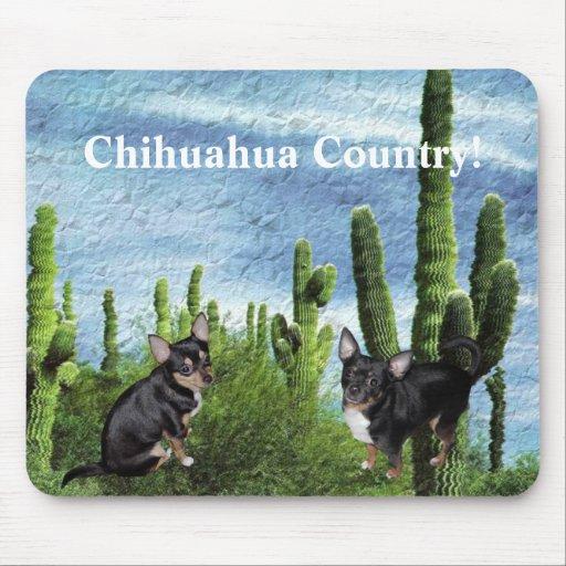 País 1 de la chihuahua tapetes de raton