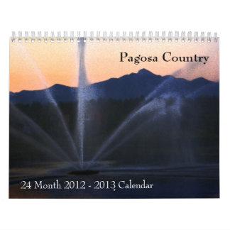 País 2012 - 2013 de Pagosa del calendario de